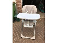 High Chair and Beaba Baby Seat