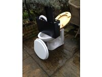 toilet with cistern and spare seat - FREE