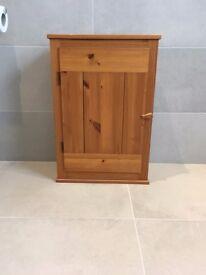 Habitat pine bathroom cabinet
