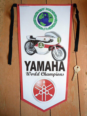 YAMAHA TD2 TR TZ 250 350 etc classic motorcycle pennant