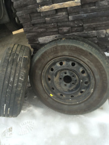 All season tires with rims full set
