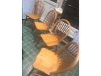 Ducal Pine Table and Chairs