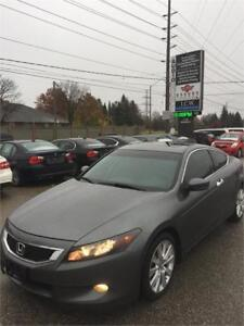 2008 Honda Accord Coupe EX-L!V6!AUTO!LEATHER!SUNROOF!CERTIFIED!