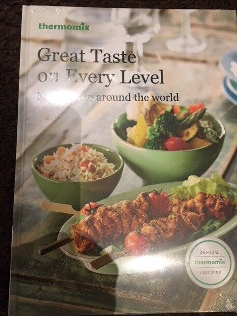 various thermomix books available