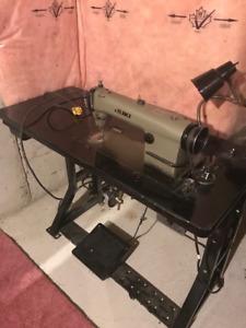 Juki Industrial Sewing Machine. Ajax. Will negotiate price!