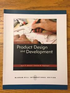 Product Design and Development - 4th Edition