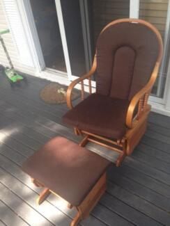 Brown feeding rocking chair North Narrabeen Pittwater Area Preview