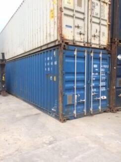 40 Foot 8'6 and 9'6  Shipping Containers