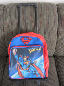 Superman Rolling back pack