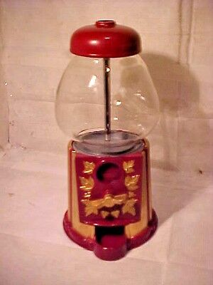 Old Tyme Candy (CANDY GUMBALL Machine Olde Tyme Reproductions RED & GOLD COLOR 9 1/4