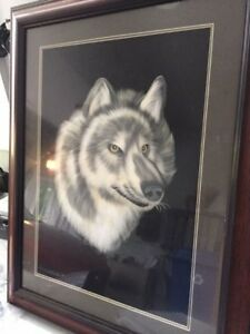 Cadre Loup/Wolf frame $25