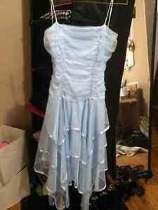 GRAD DRESS- GREAT CONDITION, ONLY WORN ONCE!