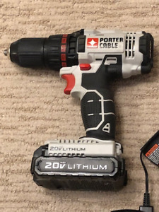 Porter Cable 20V Lithium Cordless Drill