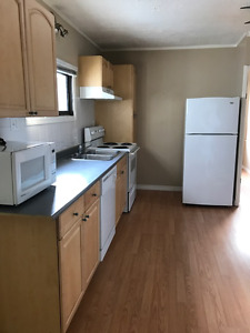 4816 52 street - spacious 2 bedroom house with garage