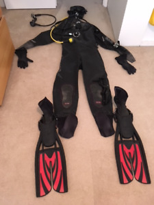 Full Set of Cold Water Scuba Diving Gear