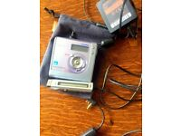 Sony MZ-NHF800 HiMD minidisc recorder with radio