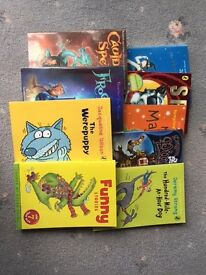 IDEAL FOR CHRISTMAS GIFTS - 7-9 YEAR OLD SELECTION OF 9 BOOKS