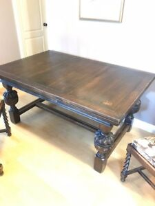 Vintage Dining Table for 8