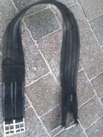 "Horse black elastic girth 42"""