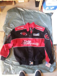 LEATHER & TWILL new NASCAR JACKETS COATS CLOTHING