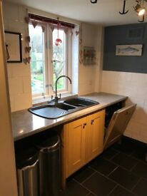Howdens Kitchen For Sale - All Cupboards and Some Integrated Appliances