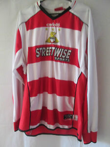 2005-2006-Doncaster-Rovers-Home-Football-Shirt-Size-Medium-Long-Sleeves-12208