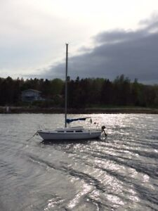 Sailboat and motor and trailer - end of season offer