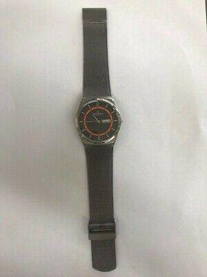 Skagen Denmark SKW6007 Titanium Wrist Watch for Men w/mesh band Mesh Titanium Wrist Watch