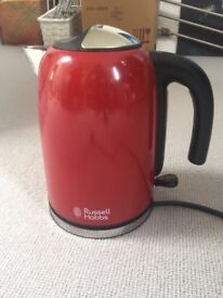 Russell Hobbs S/Steel Kettle RED