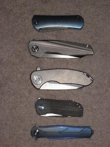 Knife Collection CH, Kizer, High End Clones