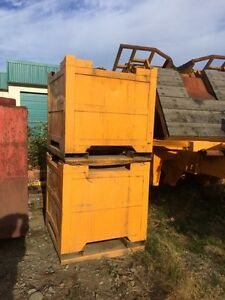 2 Waste Oil Cubes