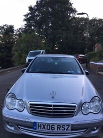 Merceded Benz C class for Sale, Auto, Petrol, MOT, Tax up to date.