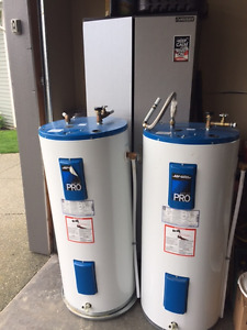 2 40 Gallon Electric Hot Water Tanks