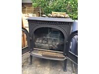 Gas fire coal effect stove