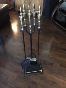 accessoires pour foyer à bois