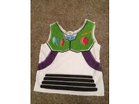 Fancy Dress Buzz Lightyear waistcoat (childs one size)