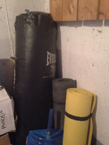 Heavy Bag and Anchor