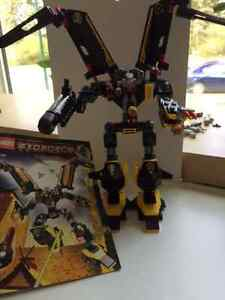 Lego - Exo-force 8105 Iron Condor & 8114 Chameleon Hunter