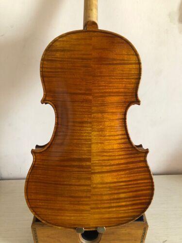 "Master 15"" Viola Ornati model Solid flamed maple back spruce top hand made K988"