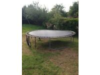 12 Foot Trampoline for sale good condition