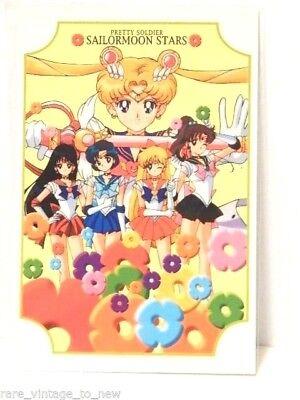 NEW Vintage Sailor Moon Post Card Original Naoko Takeuchi Postcard Trading Card