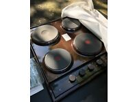 Four Solid Plate Electric Hob - Brand New