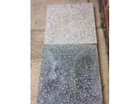Argent paving slabs (smooth)