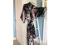 Satin nightgown / bathrobe NEW plus gift box