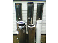 flue cap only !! stainless steel 5inch int.dia.