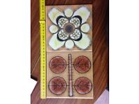 Hand made spanish ceramic tiles