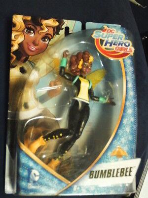 2015 DC SUPER HEROES GIRLS~BUMBLEBEE ACTION FIGURE~W/ WINGS~NIP~6 - Bumblebee Dc