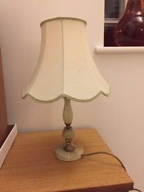 Onyx Table Lamp and Shade - £10.00