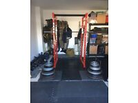Watson Commercial Gym - Custom Built Power Rack ( Height - 78 inches)