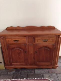 Colonial Style Sideboard fair condition